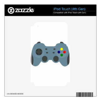 Gaming Controller Skin For iPod Touch 4G
