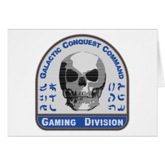 Gaming Division - Galactic Conquest Command Card