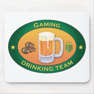 Gaming Drinking Team Mouse Mats