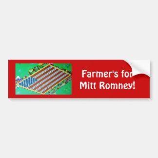 Gaming Farmer's for Mitt Romney bumper sticker