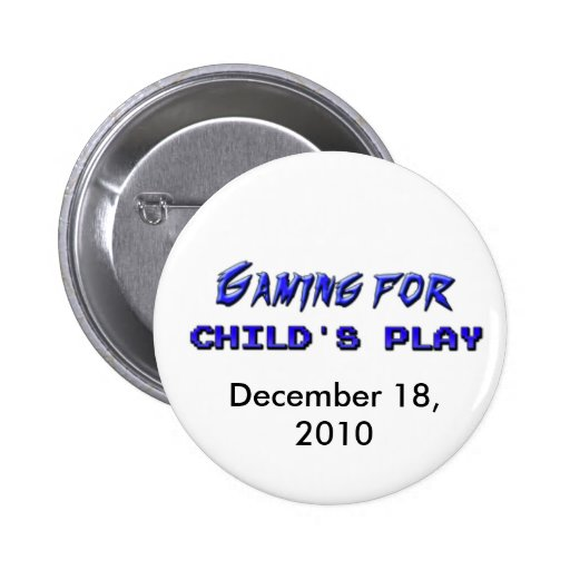 Gaming For Child's Play Button