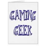 Gaming Geek Blue Cards
