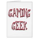 Gaming Geek Red Cards