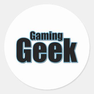 Gaming Geek Sticker