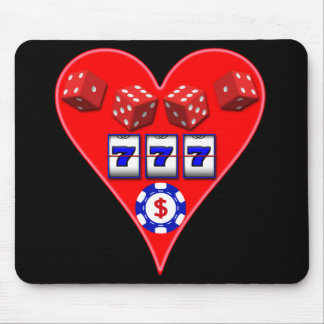 GAMING HEART MOUSE PAD