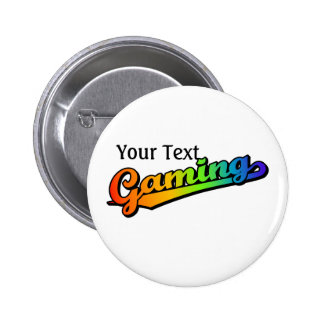 Gaming in Rainbow Colors, Add text Button