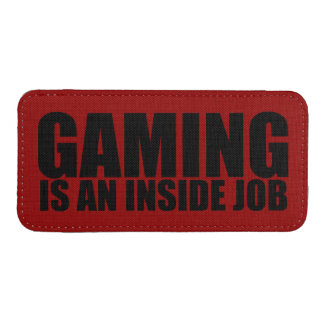 Gaming is an inside job iPhone SE/5/5s/5c pouch