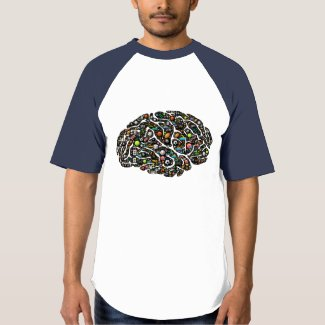 Gaming mind obsession emoji-art t-shirt