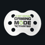 "Gaming Mode Pacifier<br><div class=""desc"">Gaming Mode Activated</div>"