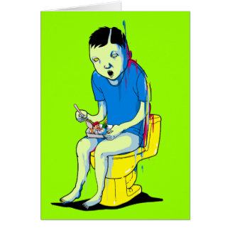 Gaming on the Toilet Card