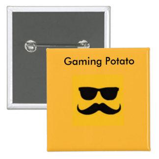 Gaming Potato button