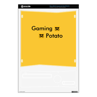 Gaming potato Xbox 360 Slim Skins For The Xbox 360 S