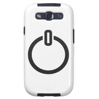 Gaming Power Button Samsung Galaxy SIII Cases