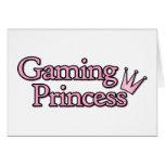 Gaming Princess Greeting Card