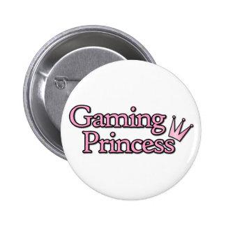 Gaming Princess Pinback Buttons