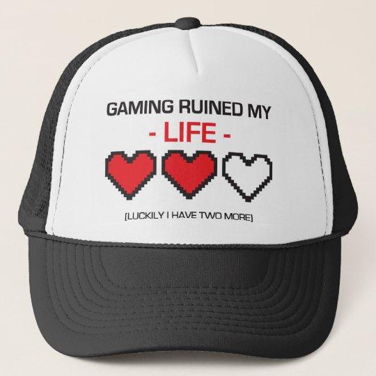 GAMING RUINED MY LIFE! TRUCKER HAT