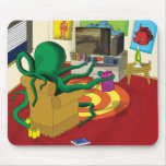 Gaming Squid Mouse Mat Mouse Pad