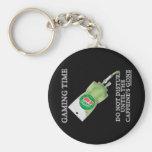 Gaming Time - Soda IV Basic Round Button Keychain
