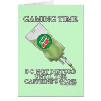 Gaming Time - Soda IV Card