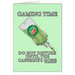 Gaming Time - Soda IV Greeting Card