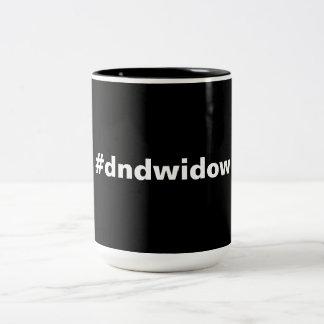 gaming widow Two-Tone coffee mug