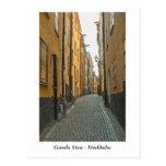 Gamla Stan - Estocolmo Tarjeta Postal