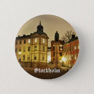 Gamla Stan in Stockholm, Sweden Pinback Button