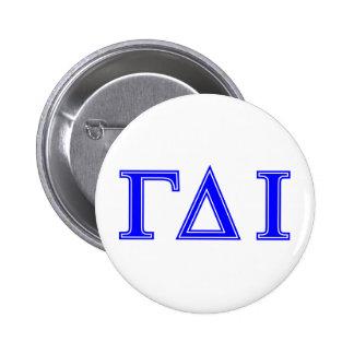 Gamma Delta Iota (Blue Letters) Button