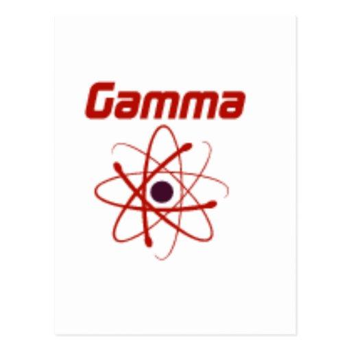 Gamma: El futuro… Postales