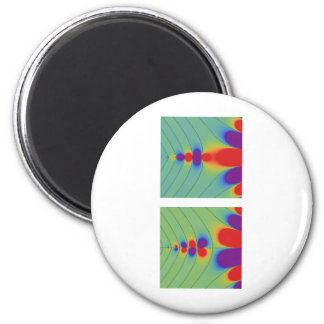 Gamma function 2 inch round magnet