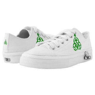 Gamma Gamma Chi Floral Crest Sneakers