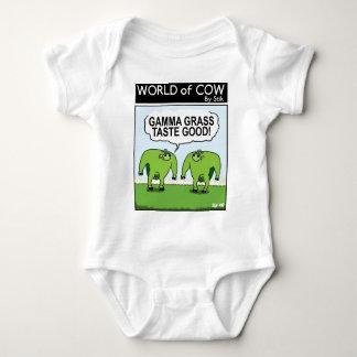 GAMMA GRASS TASTES GOOD! BABY BODYSUIT