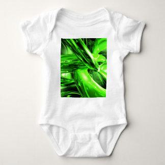 Gamma Radiation Abstract Baby Bodysuit