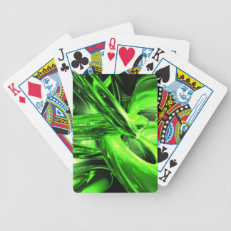 Gamma Radiation Abstract Bicycle Poker Cards
