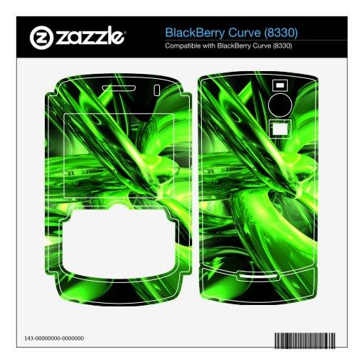 Gamma Radiation Abstract BlackBerry Skins