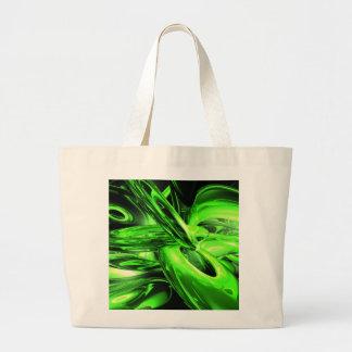 Gamma Radiation Abstract Large Tote Bag