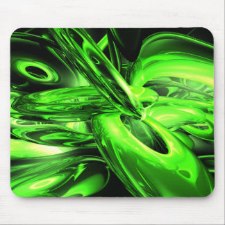 Gamma Radiation Abstract Mouse Pad