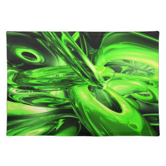 Gamma Radiation Abstract  Placemats