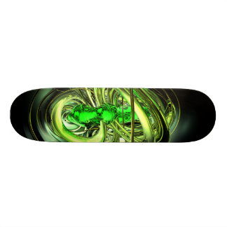 Gamma Ray Burst Abstract Skateboard
