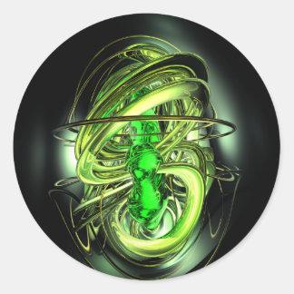 Gamma Ray Burst Abstract Sticker