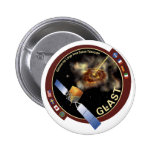 Gamma-ray Large Area Space Telescope(GLAST) 2 Inch Round Button