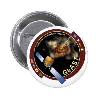 Gamma-ray Large Area Space Telescope(GLAST) Pinback Button