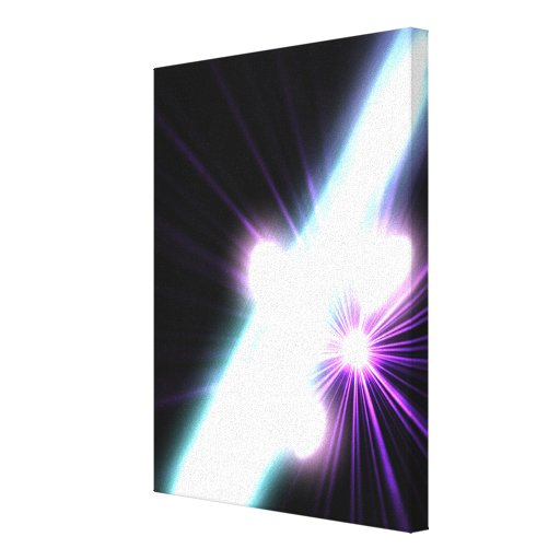 Gamma Rays in Galactic Nuclei 3 Canvas Print