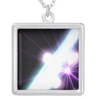 Gamma Rays in Galactic Nuclei 3 Custom Necklace
