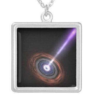 Gamma Rays in Galactic Nuclei Custom Jewelry