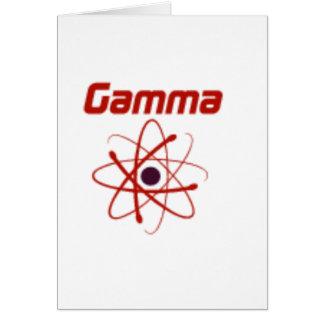 Gamma: The future... Card