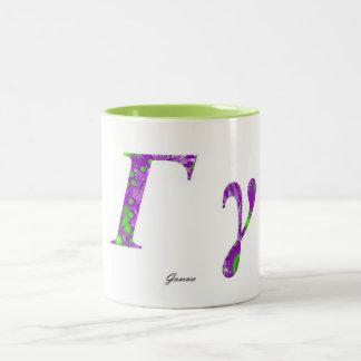 GAMMA Two-Tone COFFEE MUG