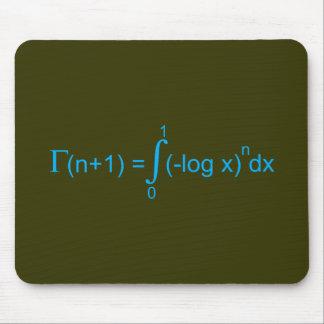 Gammafunktion gamma function mousepads