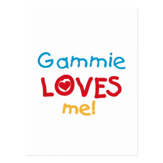 Gammie Loves Me T-shirts and Gifts Postcard