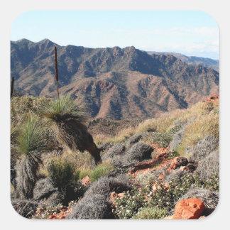 Gammon Ranges, Outback Australia Square Sticker
